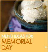 typical memorial day menu