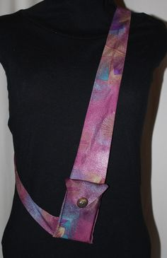another style of necktie purse