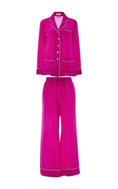 Gigi Silk Pajama Set  by OLIVIA VON HALLE