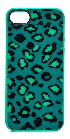 Marc by Marc Jacobs Sasha Leopard iPhone 5 / 5S Case   SHOPBOP