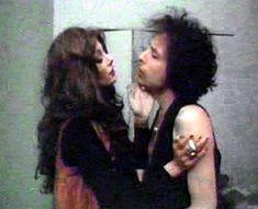 Bob Dylan and wife Sara