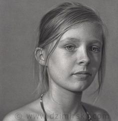 desenhos retratos realistas-Dirk-Dzimirsky