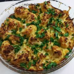 Fırında Karnabahar – Pratik yemekler – The Most Practical and Easy Recipes Baked Cauliflower, Cauliflower Recipes, Best Appetizers, Appetizer Recipes, Turkish Recipes, Ethnic Recipes, Food Garnishes, Simply Recipes, Iftar