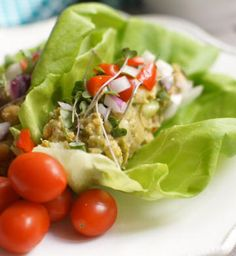 Chickpea & Avocado 'Egg' Salad (Vegan, Soy-Free, Nut-Free)