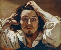Gustave Courbet Self-portrait (The Desperate Man), c. 1843–1845 (Private collection)