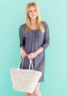 Mekko SK 3/14. Straw Bag, Sewing, Fabric, Prints, Bags, Fashion, Tejido, Handbags, Moda