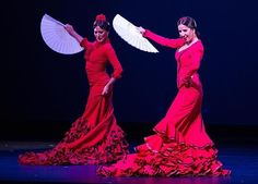Spain+Clothing | Traditional Woman Spanish Flamenco Dancer In Red ...