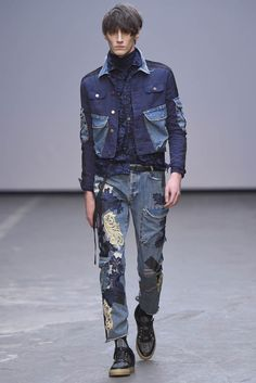 LOOK | 2015-16 FW LONDON MEN'S COLLECTION | JAMES LONG | COLLECTION | WWD JAPAN.COM