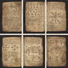 Galdrakver ('Little Book Of Magic') The 'Little Book Of Magic' is a seventeenth-century Icelandic manuscript, written on animal skin and containing magical staves, sigils, prayers, charms and related texts.  It is known to have once been owned by Icelandic Bishop Hannes Finnson who was alive from 1739 until 1796 and known for having a vast library containing many volumes of magic related texts and manuscripts.