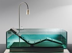 Delightful 8 Modern Clear Glass Bathtubs U2013 Interior Design, Design News And  Architecture Trends
