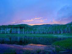 Panoramio - Photo of Wasatch Mountain Sunset