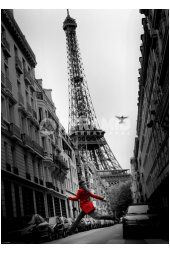 Add a modern French touch to your vintage style decor with the La Veste Rouge Lenticular Poster. The La Veste Rouge Paris Poster is equipped with tabs on the back for easy hanging. Paris Tour, Paris 3, Paris France, Paris City, Rouge Paris, Torre Eiffel Paris, Poster Art, Poster Ideas, Paris Photography