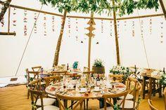 tipi wedding in the garden Tipi Wedding, Outdoor Wedding Reception, Outdoor Weddings, Garden Wedding, Wedding Ceremony, Home And Garden, Bride, Flowers, Inspiration