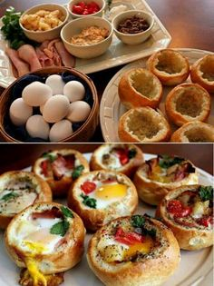 Could be a good idea for breakfast party - make your own
