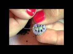 This week, Kelly from Off the Beaded Path in Forest City, North Carolina,is here to show you a new ring project this week. This is a great project for all levels. Kelly also has written patterns and kits available to purchase on Etsy. www.etsy.com/shop/offthebeadedpath      Materials needed for this project are:    (1) - 14 x 10mm Crystal Oval  11/0 D...