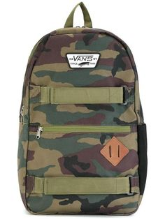 VANS 'Old Skool II' backpack. #vans #bags #polyester #backpacks #