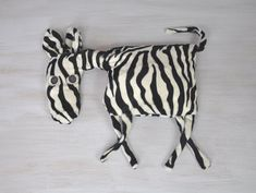 Zebra Pillow Kids Room Decor Country House Summer by Florfanka