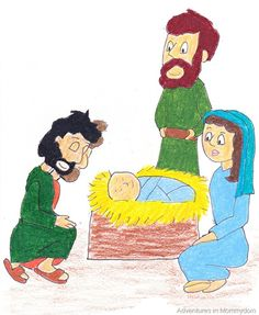 4 week Bible study for families based on the Christmas story. Applies to ages preschool to adult with craft ideas and activities for each week to do.