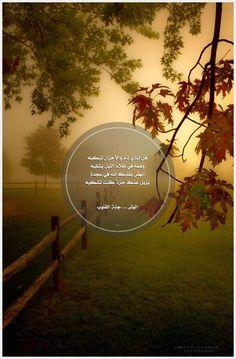 _  قال الله تعالى :  ﴿ أَوَلَمْ يَرَوْا أَنَّا نَسُوقُ الْمَاء إِلَى الْأَرْضِ الْجُرُزِ ﴾ لا تقلق ،،، ولا تتعب ،،، ولا تيأس ،،، فما من خير يكتب لك ،،، إلا ويعرف طريقك ،،، بل يساق إليك سوقا ،،، فتوكل على الحي القيوم ،،،  _
