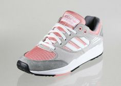 ADIDAS TECH SUPER EF W, CHROME / RUNNING WHITE / ST FADE ROSE, SUEDE-/MESH MIX pink / grey, rosa / grau, sneaker love