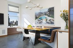 Park Avenue dúplex una transformación por el arquitecto Andrew Franz