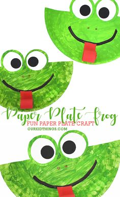 Paper plate frog craft animalcrafts Paper plate frog craft paperplatecraft spring summer kidscraft Here is a simple craft idea for the summer break or Cute Kids Crafts, Paper Plate Crafts For Kids, Animal Crafts For Kids, Summer Crafts For Kids, Daycare Crafts, Baby Crafts, Preschool Crafts, Kid Crafts, Spring Craft For Toddlers