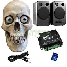 talking skull package - Talking Skull Halloween