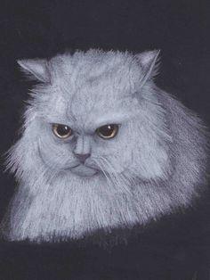 The White Cat by nefertiset.deviantart.com