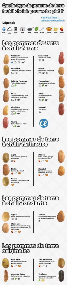 Quelle Variété de Pomme de Terre Faut-il Choisir Pour Votre Plat ? Voici le Guide.