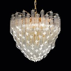De Sica Murano Prism Chandelier