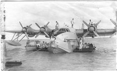 adventures-of-the-blackgang: Solent Flying Boat Aranui at Akaiami Island Akaiami is one of 22 islands in the Aitutaki atoll of the Cook Islands.