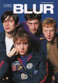 Fuck Yeah Music Magazine Covers : Photo Jamie Hewlett, Blur Band, Charlie Brown Jr, Mode Poster, Vintage Music Posters, Damon Albarn, Britpop, Music Magazines, Band Posters