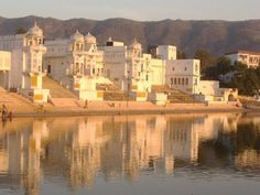 Pushkar! I stayed stuck there for two weeks!