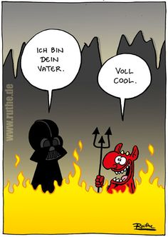 darth vader star wars teufel satan hölle fegefeuer luke skywalker may the forth möge die macht