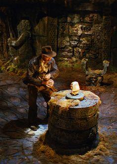 Harrison Ford as Indiana Jones in Raiders of the Lost Ark (Steven Spielberg, 1981)
