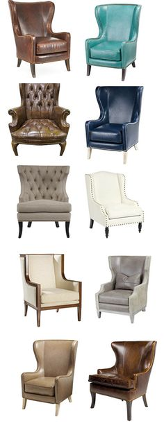 Grown a passion for wingback chairs! Wing Chair, Sofa Chair, Upholstered Chairs, Sofa Set, Wingback Chairs, Armchairs, Furniture Styles, Sofa Furniture, Furniture Design