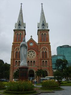 Notre Dame Cathedral built in 1880, Ho Chi Minh