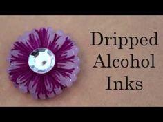 ▶ Mod Melt Finishing Technique: Alcohol Inks - YouTube