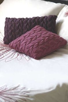 Cable Knit Cushion Covers