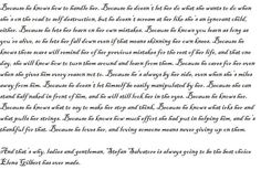 Every Stelena shipper should read this :) It's always going to be Stefan. :)