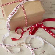 Red And White Merry Christmas And Star Ribbon Kit by Ginger Ray, the perfect gift for Explore more unique gifts in our curated marketplace. Merry Christmas, Christmas Ribbon, Christmas Gift Guide, Christmas Star, Christmas Holidays, Christmas Gifts, Christmas Ideas, Gift Wrap Ribbon, Online Gift Store