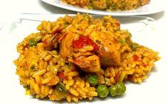 ¡No te pierdas esta receta casera de arroz con pollo! Queda meloso con un sabor suave y sabroso. Te contamos el paso a paso para que te salga de 10.
