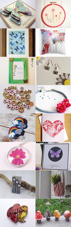 Glowing Gardens by Melanie Fisher on Etsy--Pinned with TreasuryPin.com