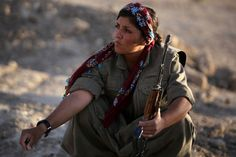 women at war against isis