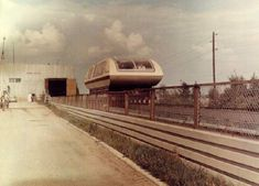 Wagon TA-05, a maglev train from 1986 Only a 0.37 mi (600 m) section of the track was built near Moscow, and the first tests were successful, but after fall of the Soviet Union the project was stopped due to lack of funding.