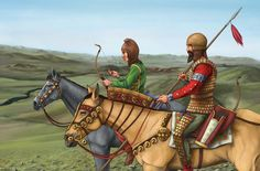 Scythian warriors by Jason Butera Alexander Of Macedon, Horse Drawings, Historical Art, Central Asia, Bronze Age, History Facts, Roman Empire, Ancient History, Old World
