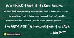 Abraham Hicks inspirational quotes