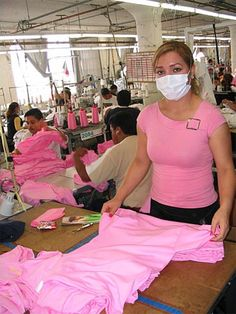 American Apparel factory worker - yes! made in the USA!