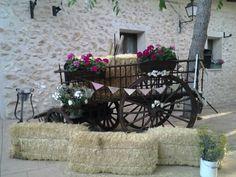 Decoracion boda vintage, jardines finca Casa de Lujan