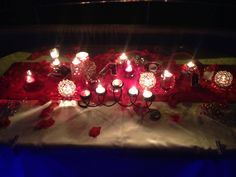 Evlenme teklifi, Evlilik yıl dönümü ve sürpriz doğum günlerine özel hazırladığımız masa süslemesi.